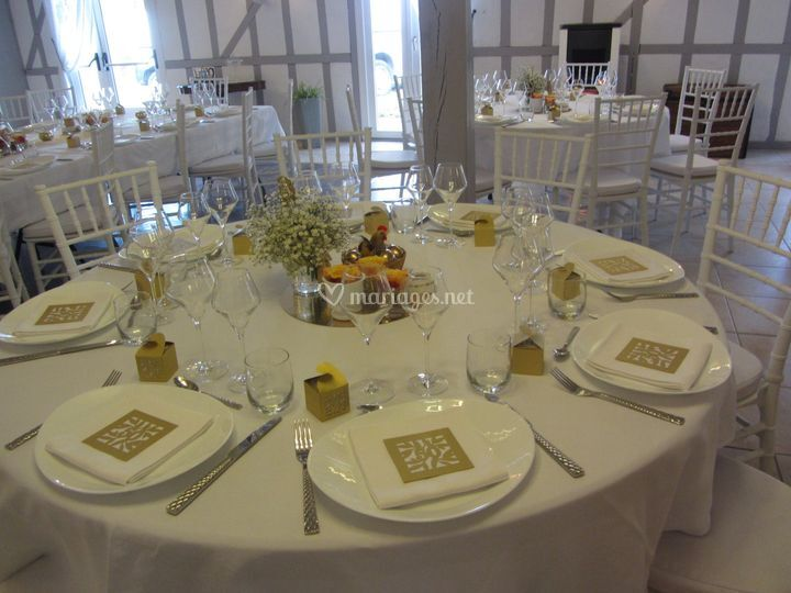 Table noces d'or