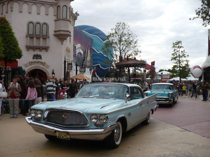 Chrysler Disney land