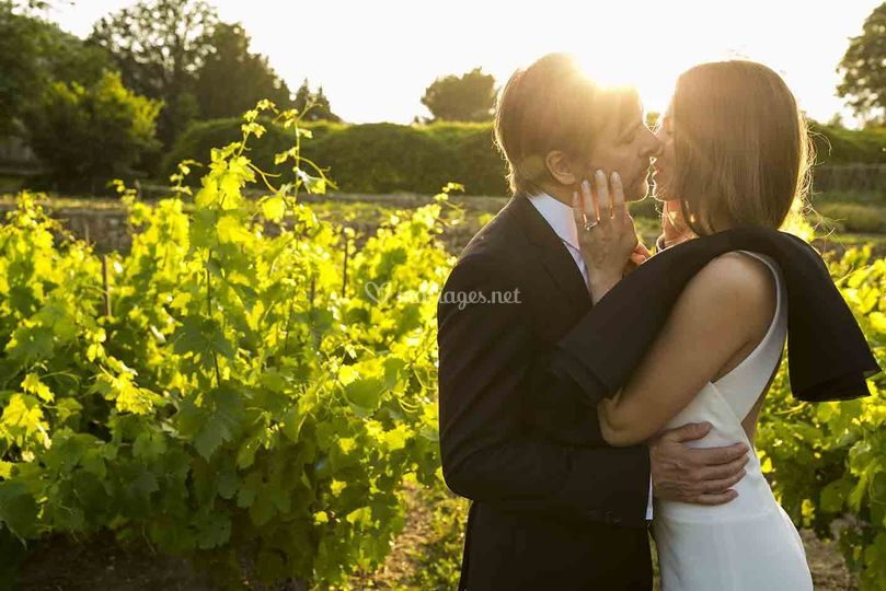 Mariage dans les vignes