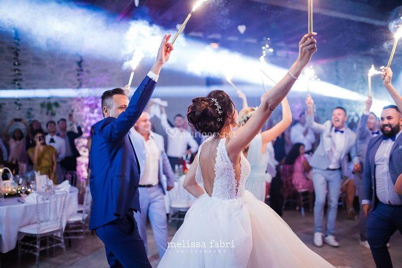 Entrée des mariées