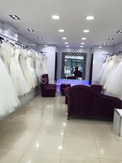 Showroom mariage