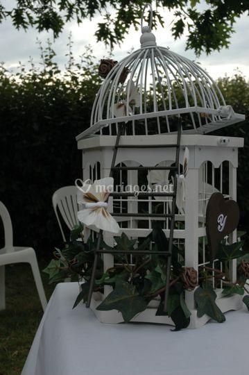 Cage décoration