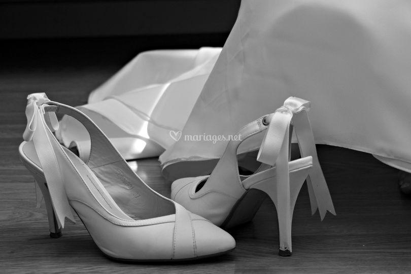 Talon de mariée