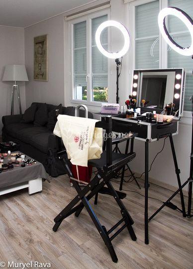 Studio à votre domicile