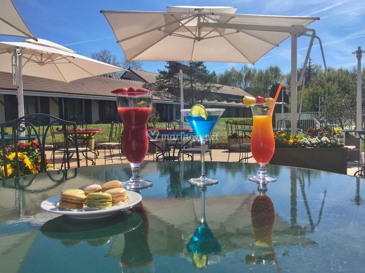 Votre cocktail en terrasse