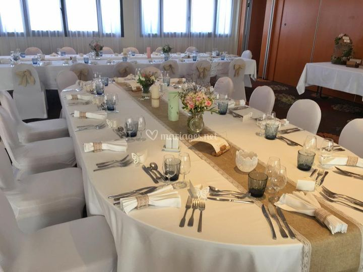 Table de mariés