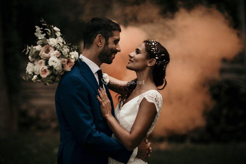 Couple fumigènes