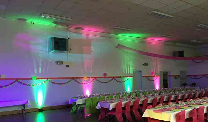 Déco LED salle