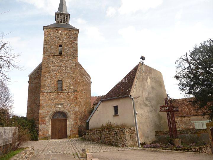 Eglise de Vesdun