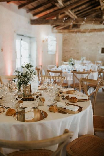 Table ronde champêtre