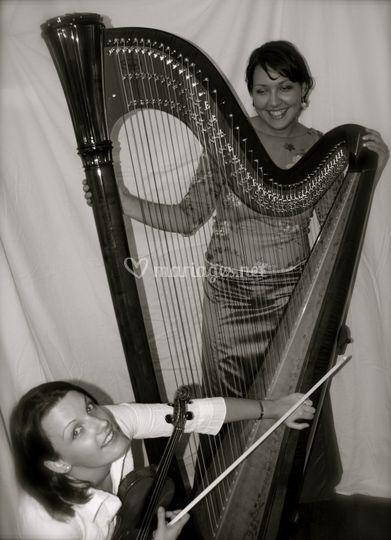 Duo violon/harpe classique