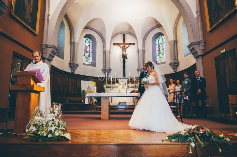 Église - Chloé & Thibault