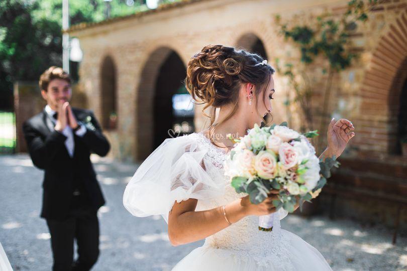 Chignon mariage maeva