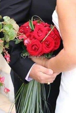 Bouquet pour la mriée