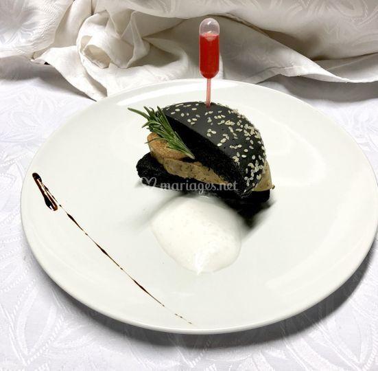 Hamburger de foie gras