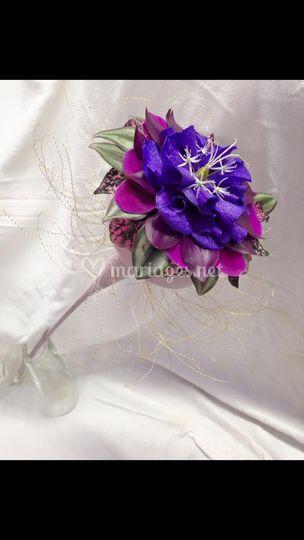 Bouquet de mariée : glamelia