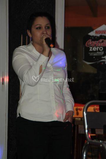 Laetitia chanteuse