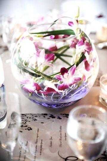 Vase bien décoré