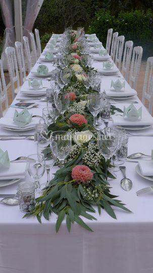 Banquet au jardin