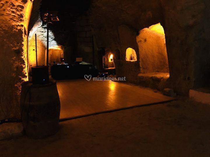 Vigneron ds cave troglodyte