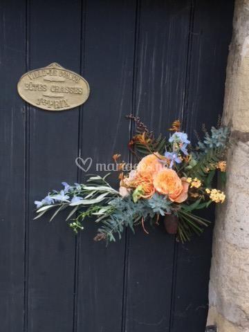 Bouquet de Mariée Déstructuré