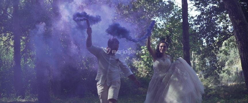 Mariage fun en provence