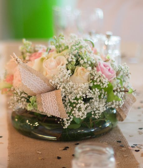 Bouquet de table