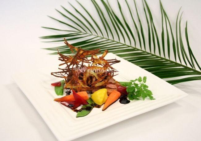 Cuisine raffinée, pleine d'arômes et d'exotisme