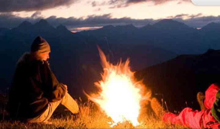 Soiree camping en Argentine