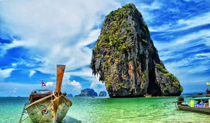 Longtail boat en Thailande