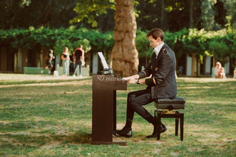 Piano en Garden party