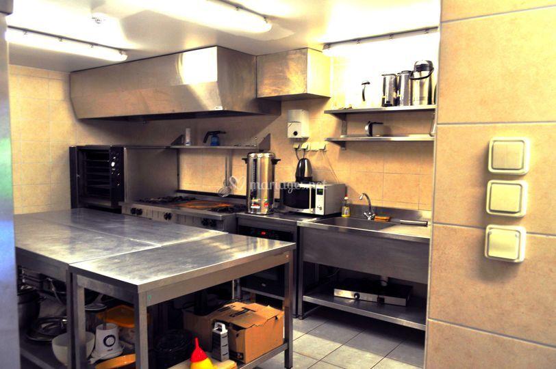 Cuisine professionnelle et mat riel de clos du pr vert for Devis cuisine professionnelle