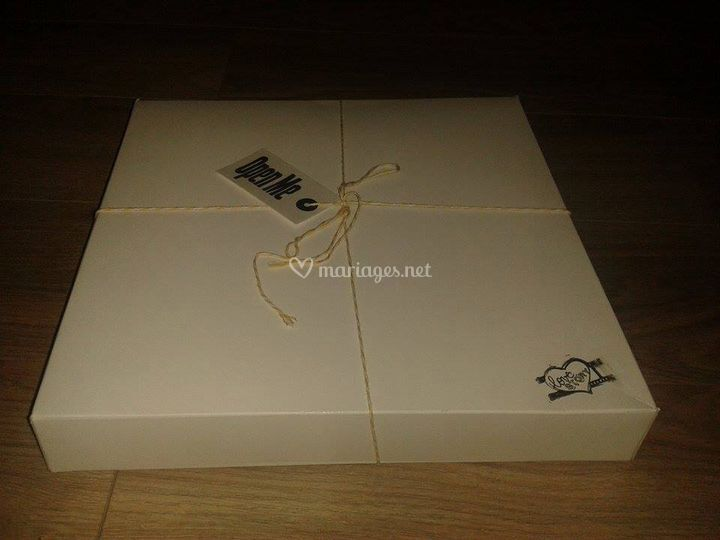 Coffret emballage papeterie