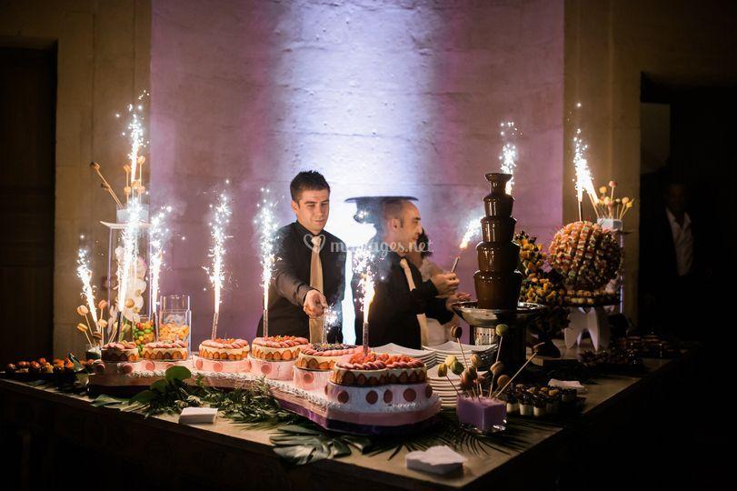 Notre buffet des desserts