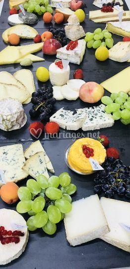 Plateau fromages par nos soins