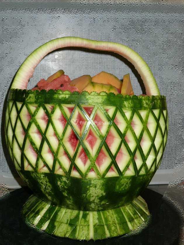 coupe de fruits en pastèque de art&style veggies | photo 16