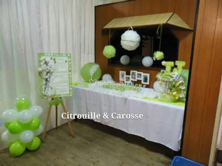 Citrouille et Carosse