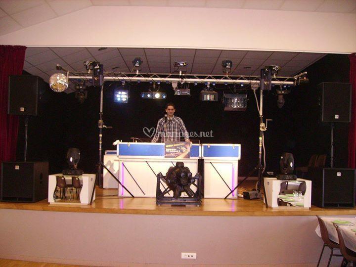 Tout notre matériel sur scène
