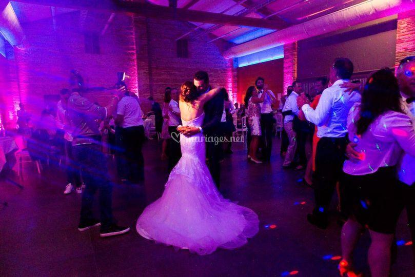 Ouverture de bal des mariée