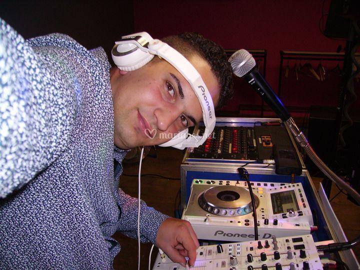 DJ Adrien au Platine