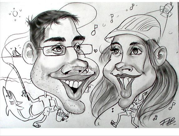 Double Caricature