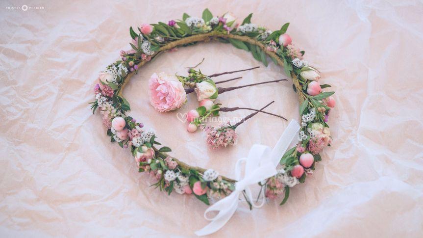 Couronne & Fleurs Flavie