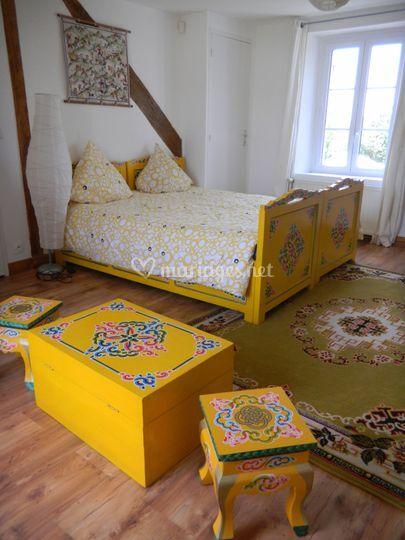Chambres d'hôtes mode mongole