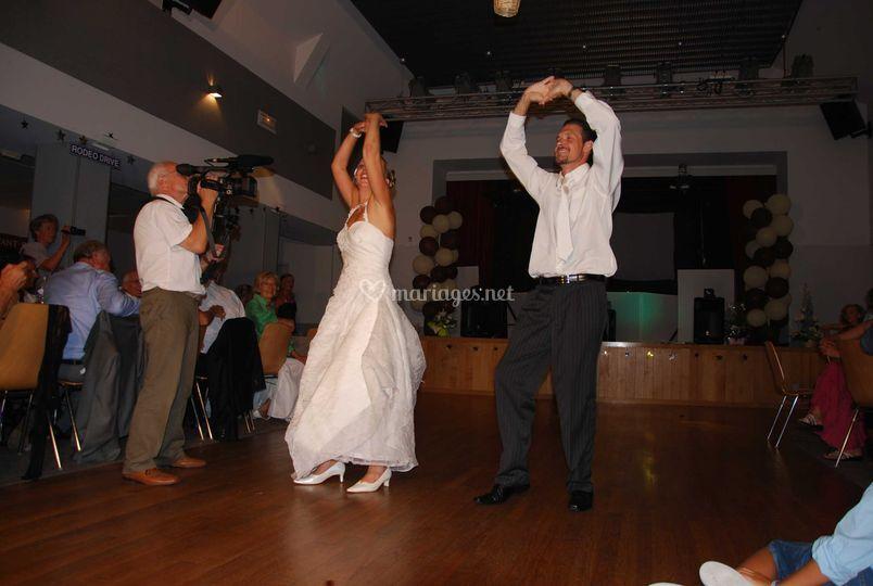 Chorégraphie d'ouverture de bal