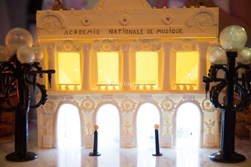 Opéra Garnier en sucre