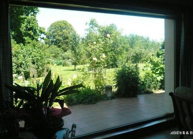 Josy Bed & Breakfast vue sur le jardin