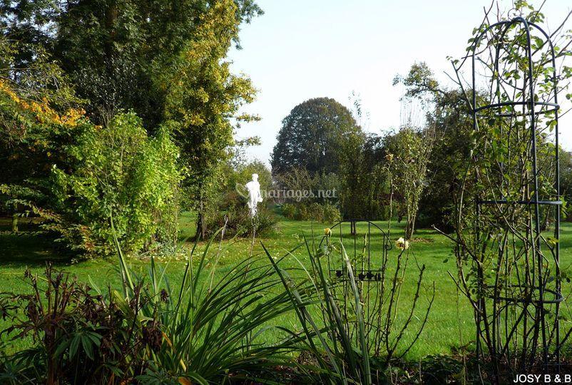 Josy Bed & Breakfast grand jardin