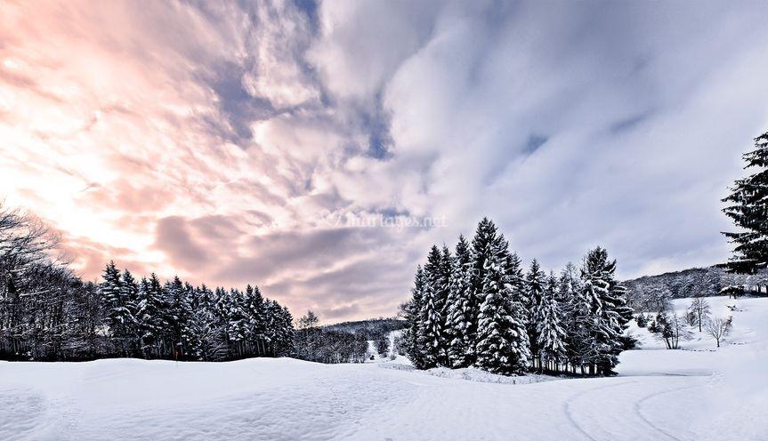 LaLargue l'hiver