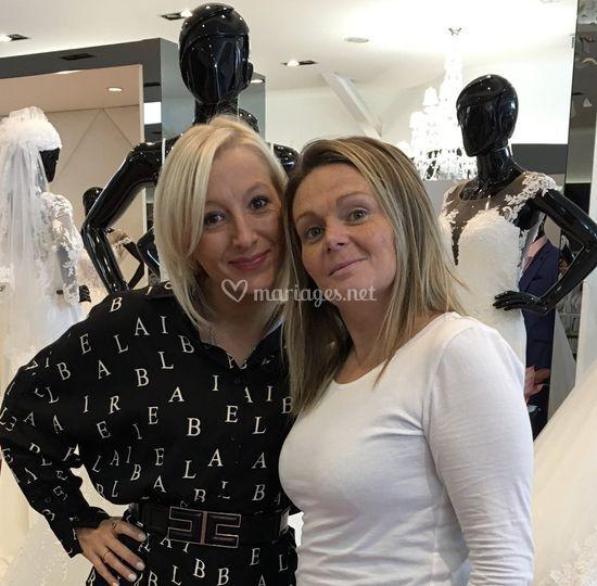 Jessica et Sandra