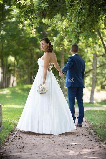Une mariée Sublime